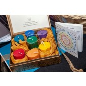 Chakra Illumination Votive Set