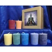 Chakra Votive Gift Set